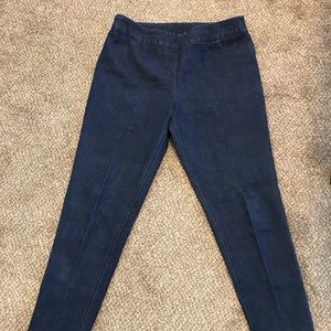 Soft surroundings pull on jeans